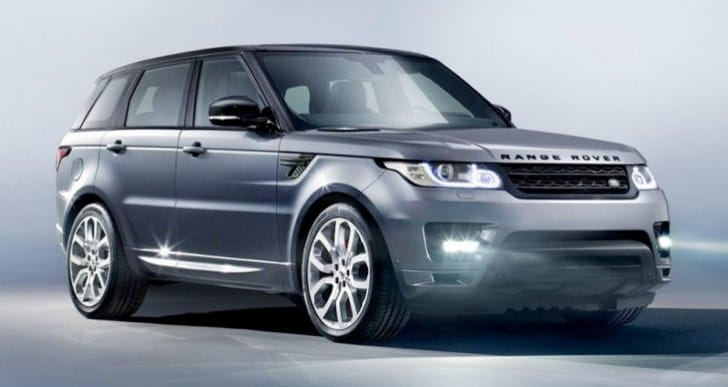 2014 Range Rover Sport configurator exposes price options