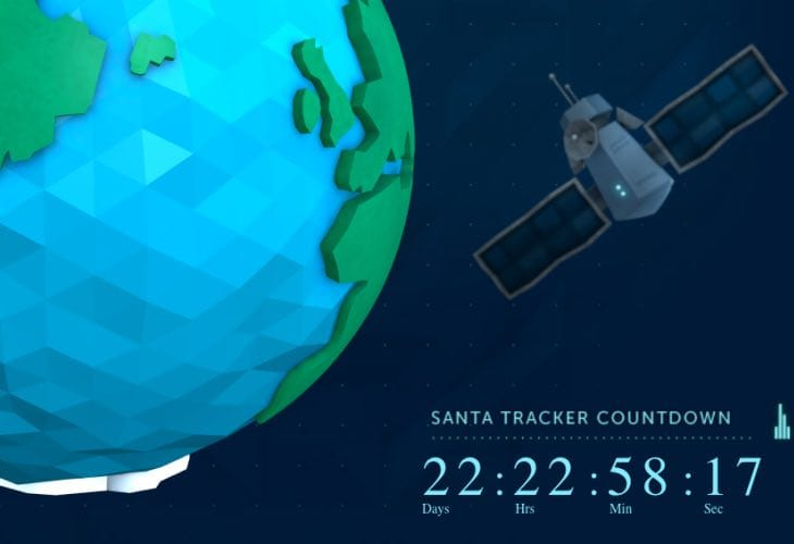 2014 Santa Tracker countdown live, teases 23 games