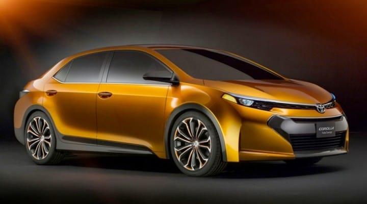 2014 Toyota Corolla tentative unveil date before release