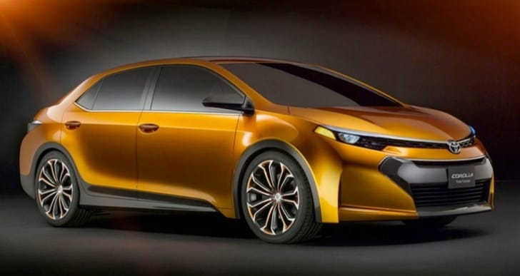 2014 Toyota Corolla tentative unveil date before release
