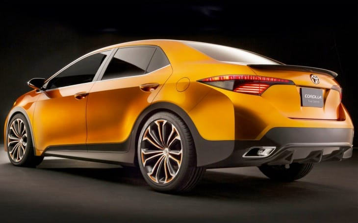 2014 Toyota Corolla tentative unveil