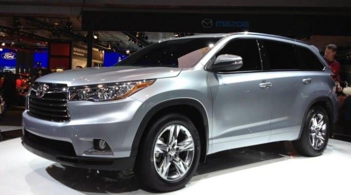 2014 Toyota Highlander attributes and key price