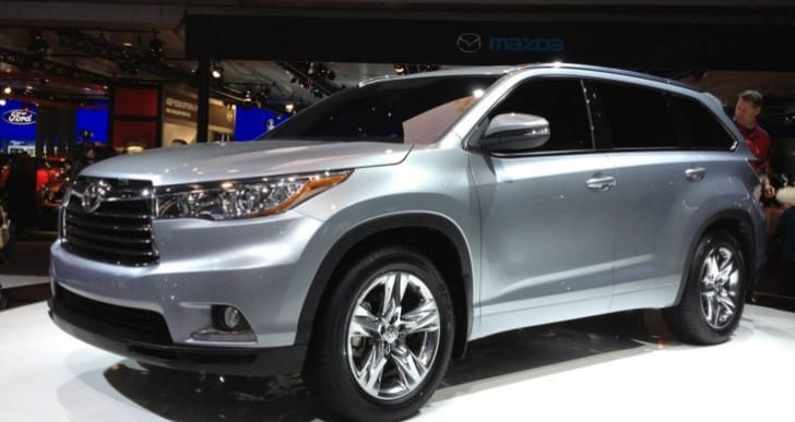 2014 Toyota Highlander attributes and key price