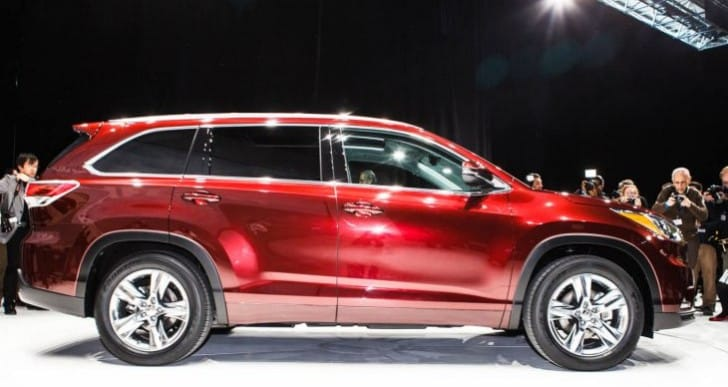 2014 Toyota Highlander review of specs rated