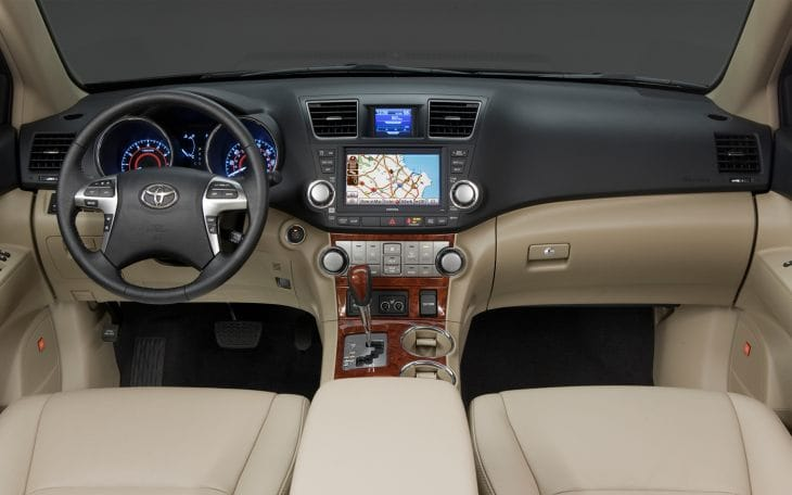 2014 Toyota Highlander review of specs