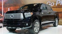 2014 Toyota Tundra, minimal interior and exterior improvements