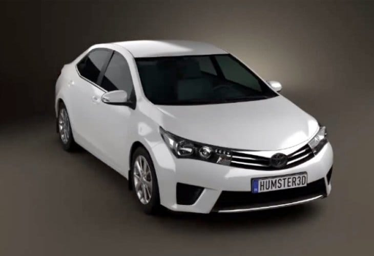 2014 Toyota Corolla redesign foreseen in new video