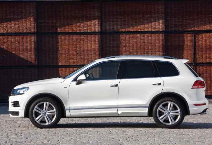 2014 VW Touareg recall