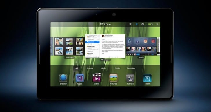 2014 sees final BlackBerry PlayBook update