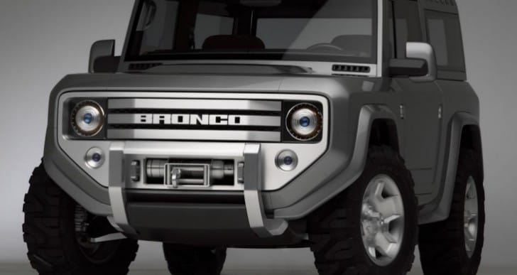 2015-2016 Ford Bronco admirers pay price for tradition