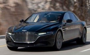 2015 Aston Martin Lagonda gets James Bond treatment