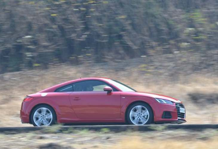 2015 Audi TT coupe price following review in India