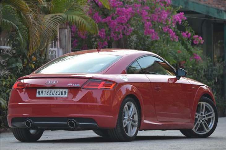 2015 Audi TT coupe price