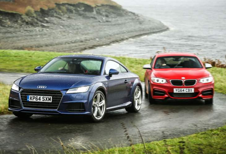 2015 Audi TT vs. BMW M235i comparison justification