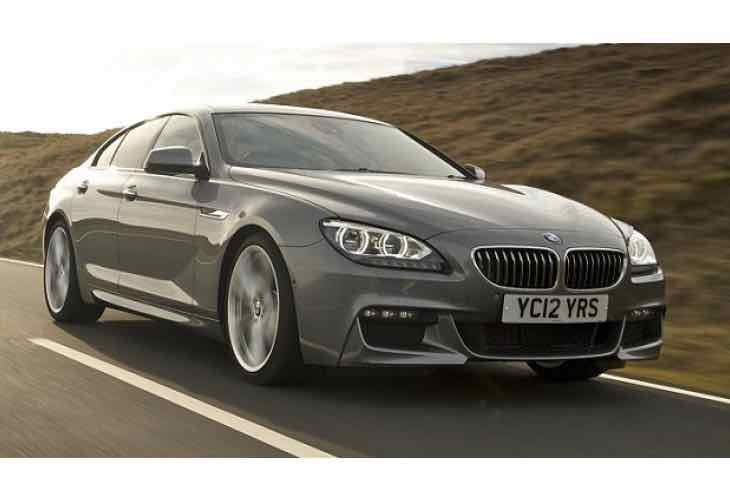 2015 BMW 6 Series Gran Coupe price options in India