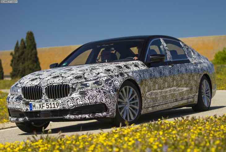 2015 BMW 7 Series shape revealed
