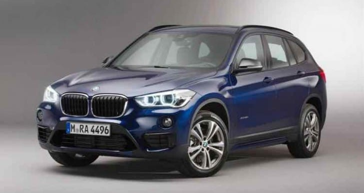2015 BMW X1 equipment level options eagerness