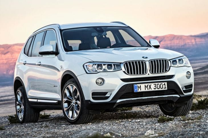 2015 BMW X3 SUV shootout