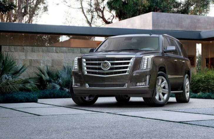 2015 Cadillac Escalade interior and exterior changes