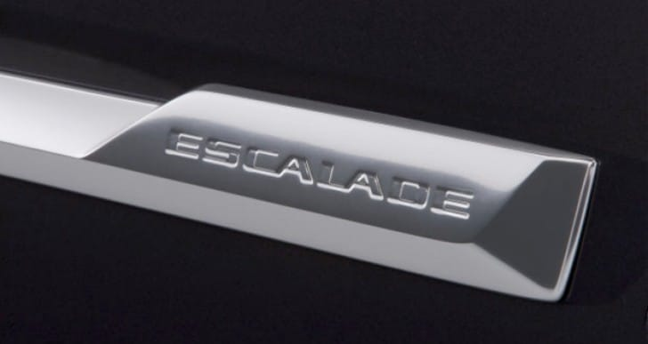 2015 Cadillac Escalade interior pictures show individuality