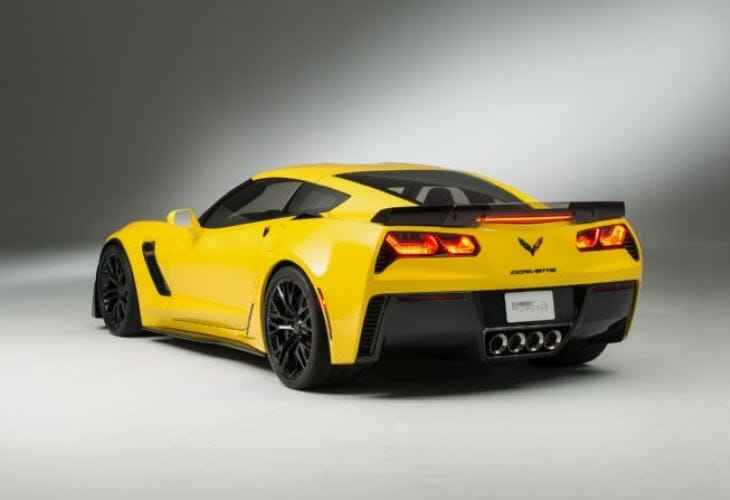 2015 Chevy Corvette Z06 performance