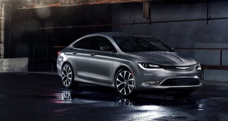 2015 Chrysler 200 sedan promotes new jobs