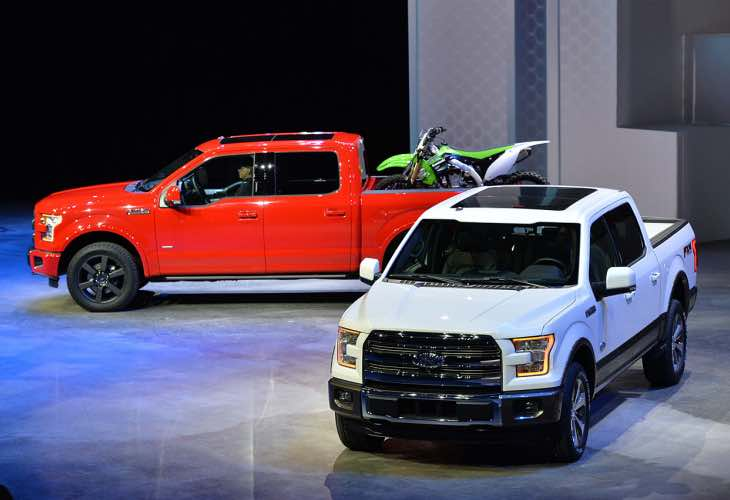 2015 F-150 diesel lineup desired, hybrid has drawbacks