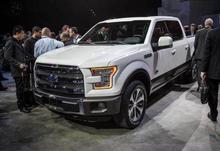 2015 F-150 diesel lineup desired