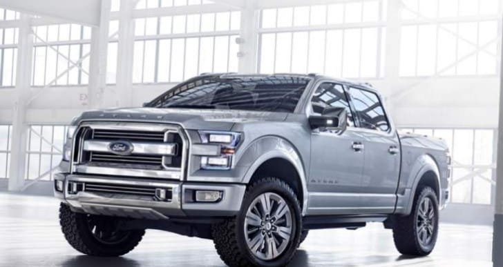2015 Ford F-150 and Chrysler 200 weight and style