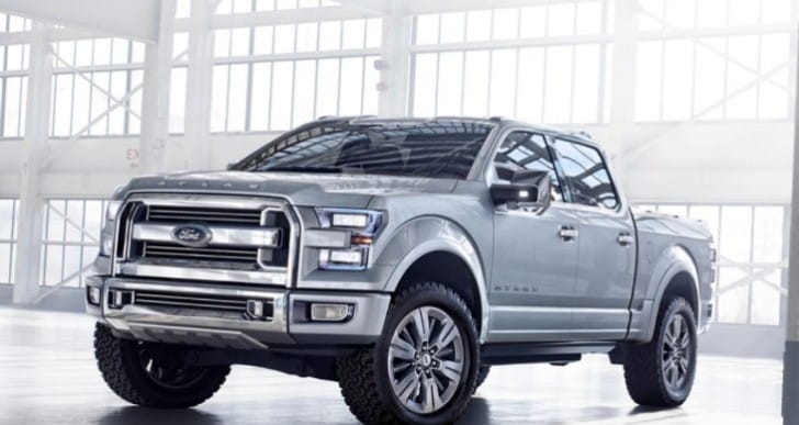 2015 Ford F-150 innovative technology reflected