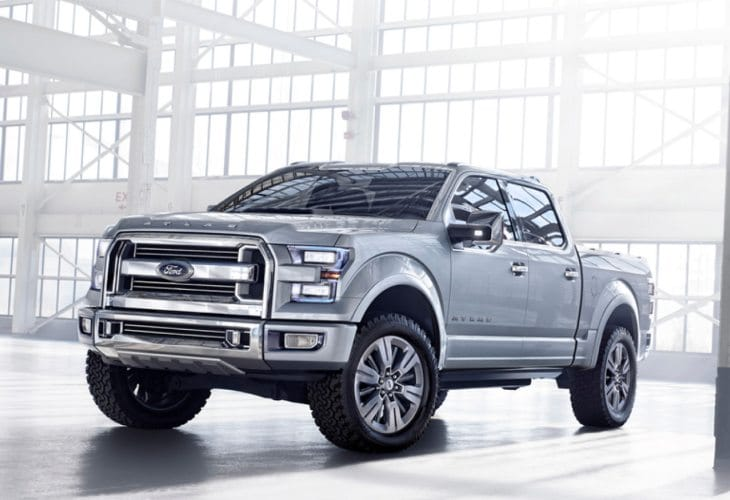 2015 Ford F-150 innovative technology