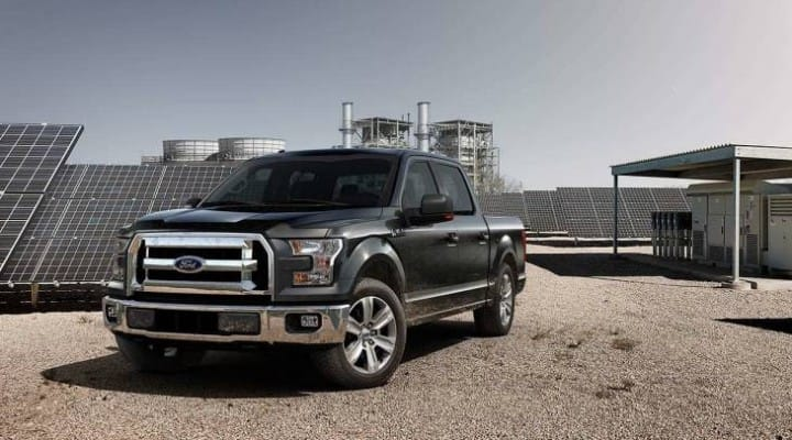 2015 Ford F-150 price, specs, and MPG assumption