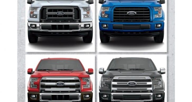 2015 Ford F-150 trim levels, new lineup changes