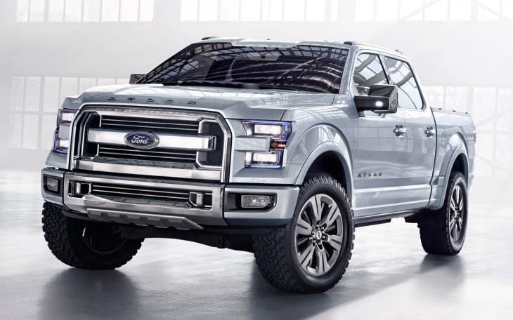 2015 Ford F-150 weight