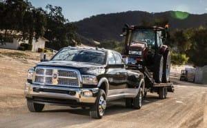 2015 Ford F-450 vs. Ram 3500 towing capacity row