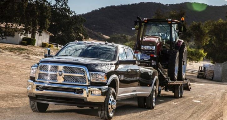 2015 Ford F-450 vs. Ram 3500 towing capacity row