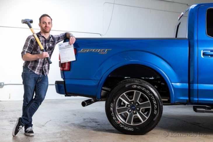 2015 Ford F150 repair bill