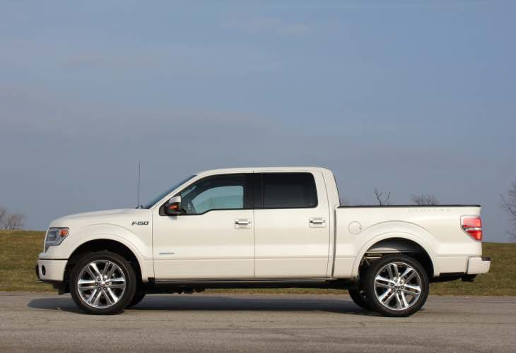 2015 Ford F150 resale value