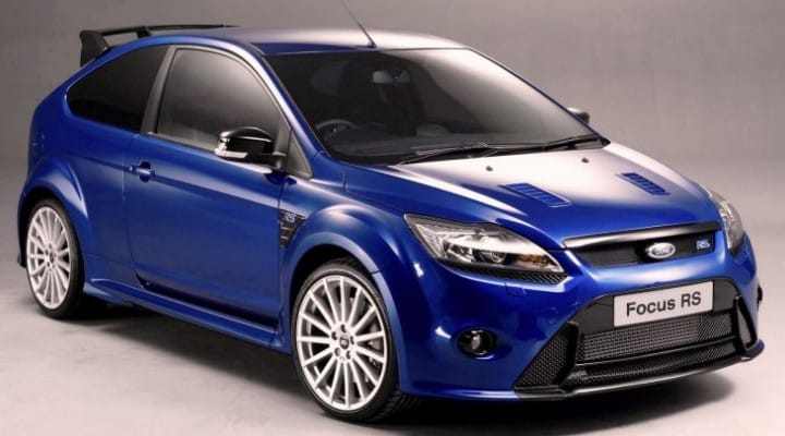 2016 Ford Focus RS mega-hatch competitors