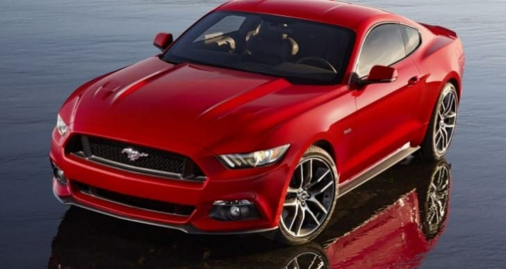 2015 Ford Mustang pre-registrations outstrips demand