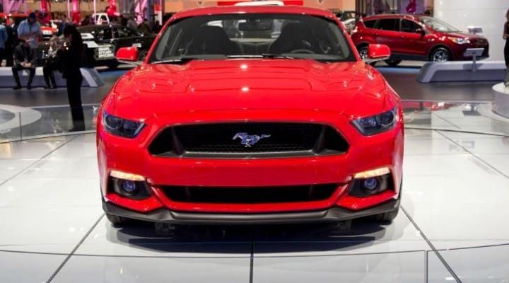 2015 Ford Mustang vs. F-150 weight disparity