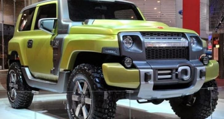 2015 Ford Troller production an ideal Bronco candidate