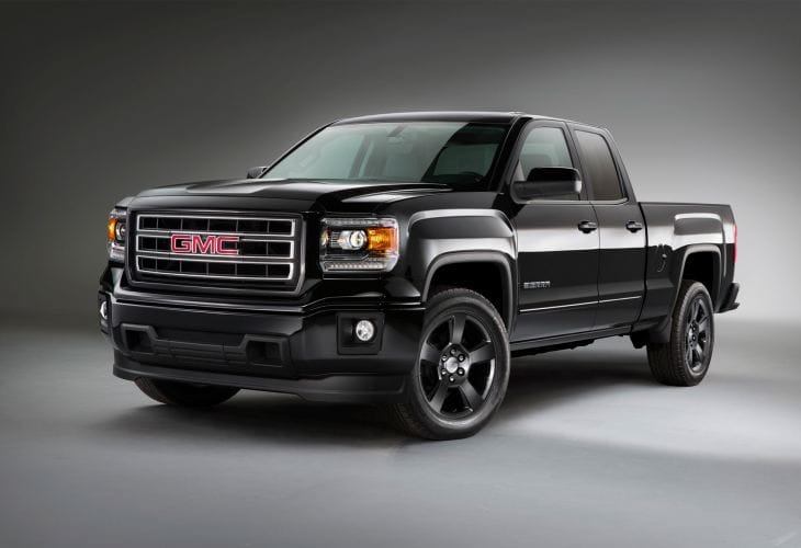 2015 GMC Sierra Elevation Edition visual upgrades
