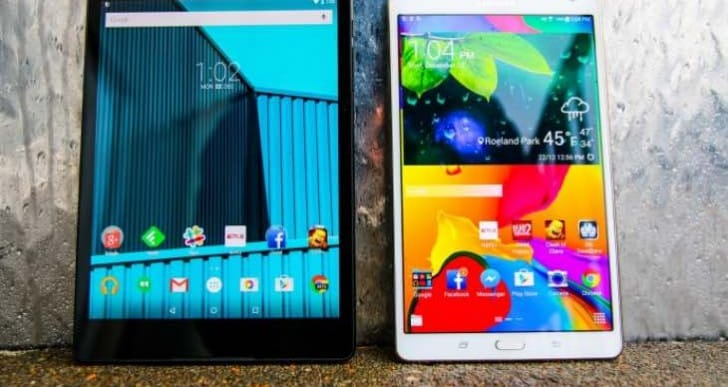 2015 Galaxy Tab S 2 SM-T710 and SM-T810 specs revealed