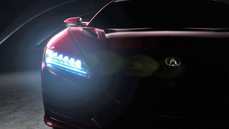2015 Honda NSX debut