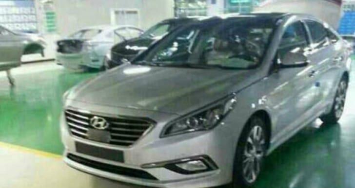 2015 Hyundai Sonata redesign specs questioned
