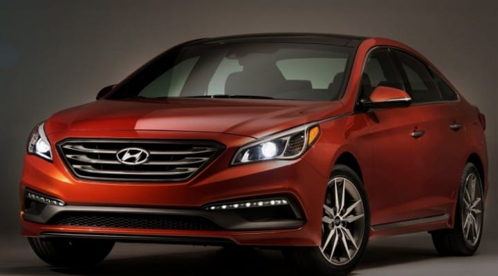 2015 Hyundai Sonata trims, colors and equipment options