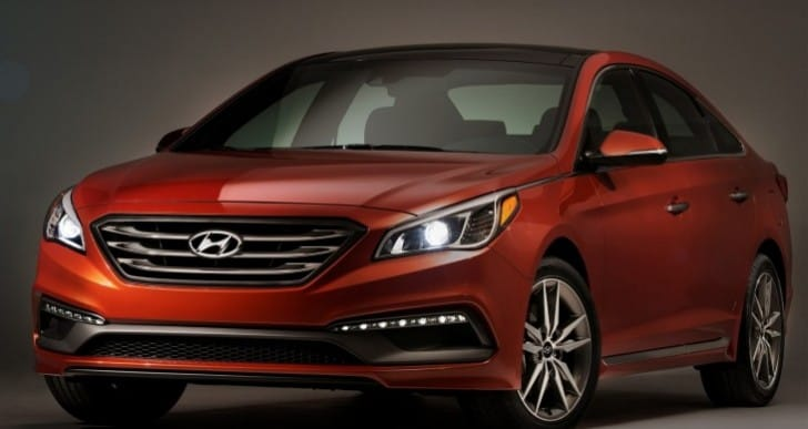 2015 Hyundai Sonata trims, colors and equipment options