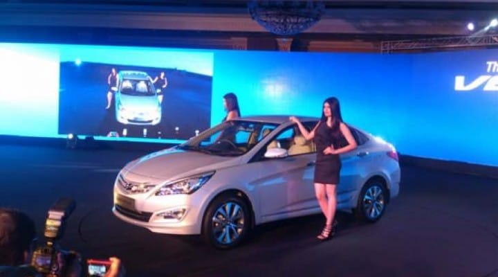 2015 Hyundai Verna new model price list in India