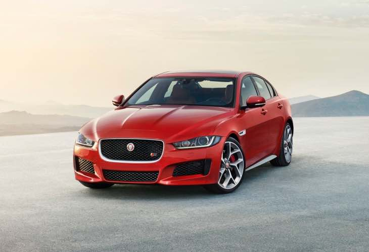 2015 Jaguar XE production begins today